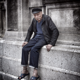 Frenchman by Michael Lunn - People Portraits of Men ( paris, europe, france )