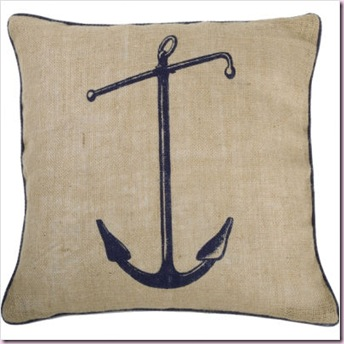 Seafarer Hero 18' x 18' Pillow in Ink