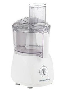 10-CupFood Processor in White
