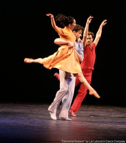 &quot;Elemental Brubeck&quot; by Lar Lubovitch Dance
