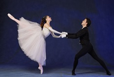 MCB-Balanchine's LA VALSE (4)Kronenberg & Guerra, photo by Joe Gato