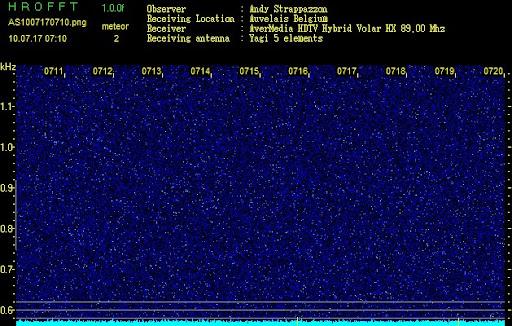 Detection des météores AS1007170710