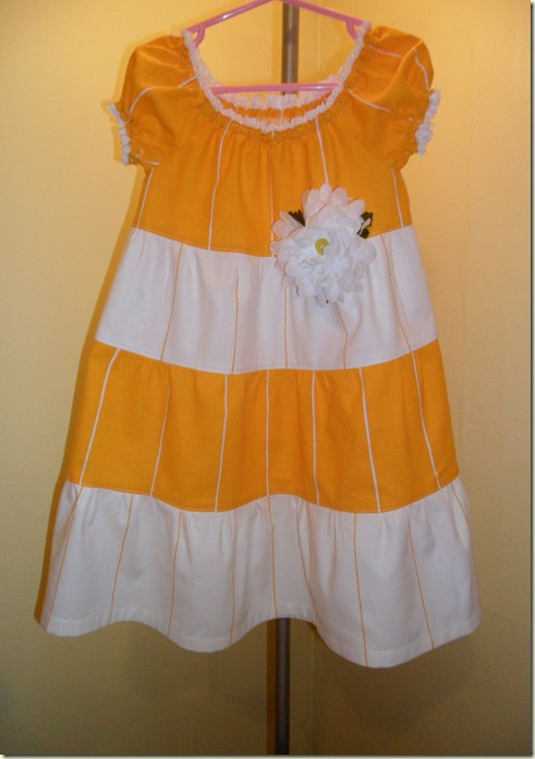 yellow dress 074