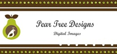 Pear Tree Digital Image Banner #12