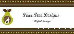 Pear Tree Digital Image Banner #12