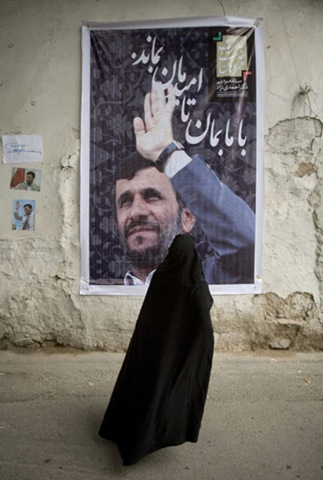 Iran-elections-Woman-stan-005