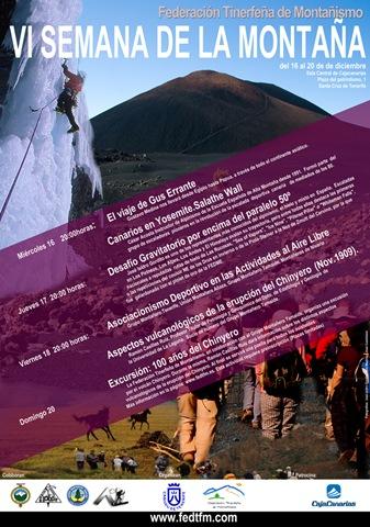 Cartel Semana de la Montaña 1000