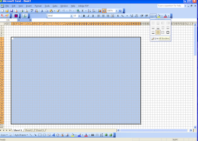 Knitting Symbols For Excel : Chemknits how to make a knitting chart in excel part