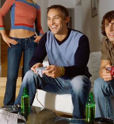 Homens preferem video game a sexo, diz perquisa