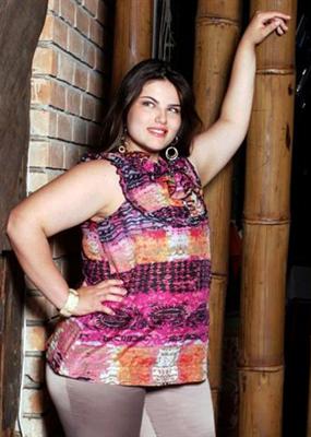 Mayara Alvez Plus Size Model gordinha gostosa sexy