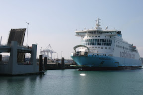 The ferry in Dunkerque