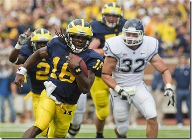 Denard Robinson, Michigan