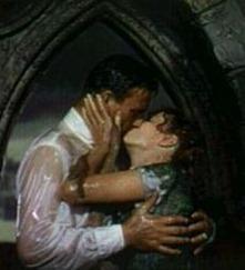 Maureen O'Hara Kiss in the Rain