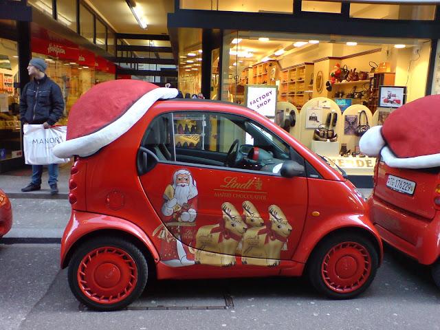 Rallyeteam Westpfalz Weihnachtsauto