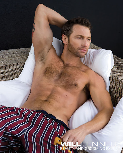 In bed with will fennell daily male models