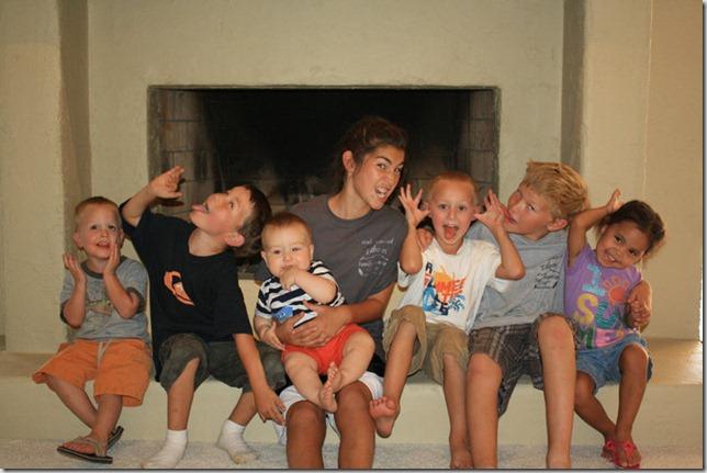 kids at homestead