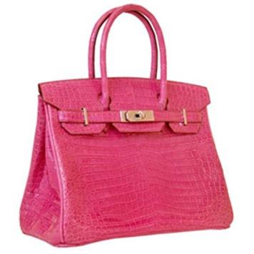 Hermès-Matte-Crocodile-Birkin-Bag