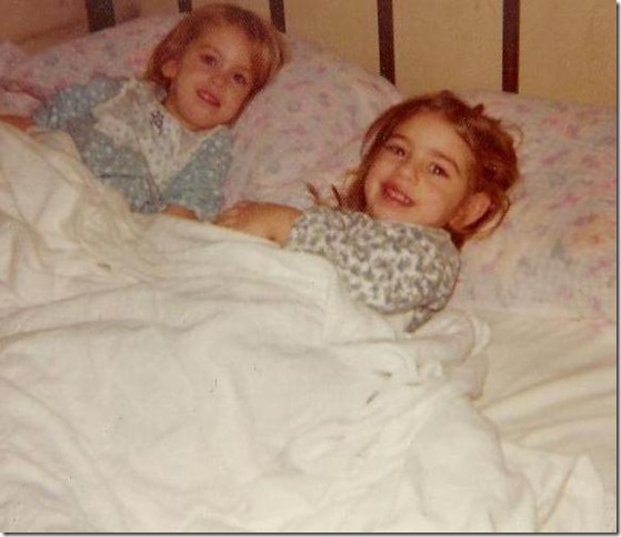 mary and I sharing bed - about 3 - cropped