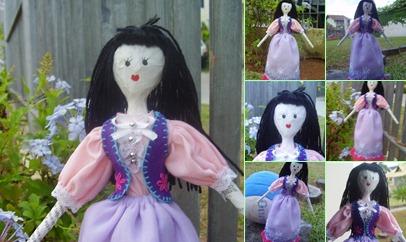 Exibir Doll Colete Roxo