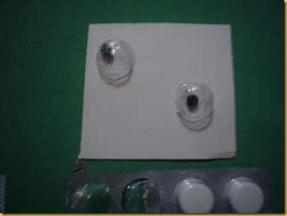 Olhos para Bonecos Reciclados