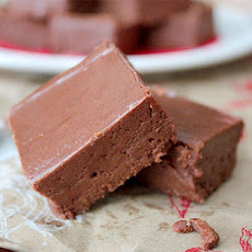 Mint Melt-Away Fudge