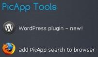 Picapp - mecanismo de busca no navegador