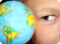 Earth boy [Vladimir Solovev em www.123rf.com]