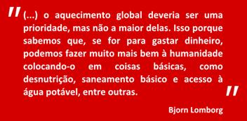 citação Bjorn Lomborg