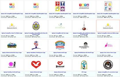 seeklogo screenshot de logotipos de igrejas evangélicas