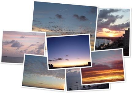 Exibir Os céus de Maceió