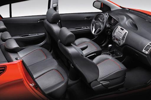 Hyundai I20 Interior. Hyundai i20