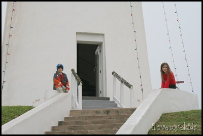 Lighthouse Keepers from ground level.