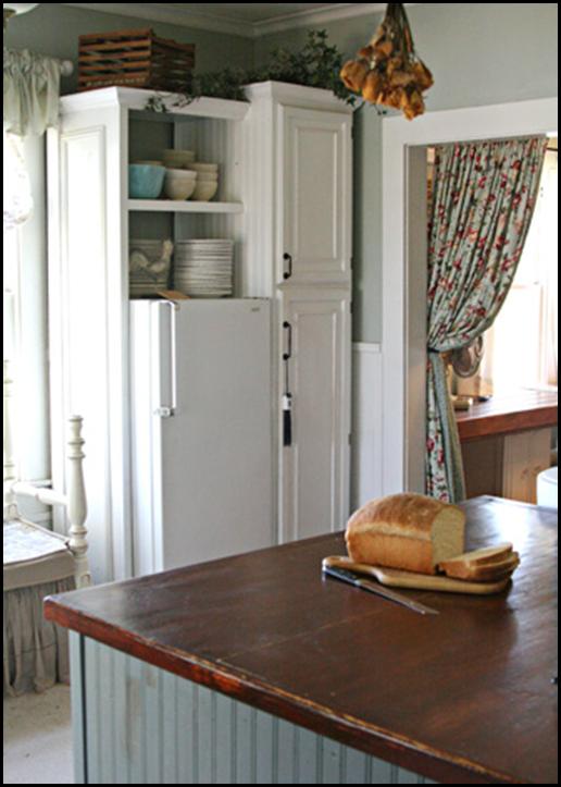 Small Sized Fridge in Dream Kitchen