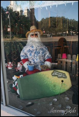 Santa on Vacation in Goliad