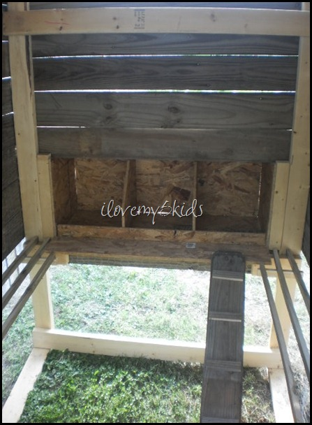 Interior of the Chicken Coop