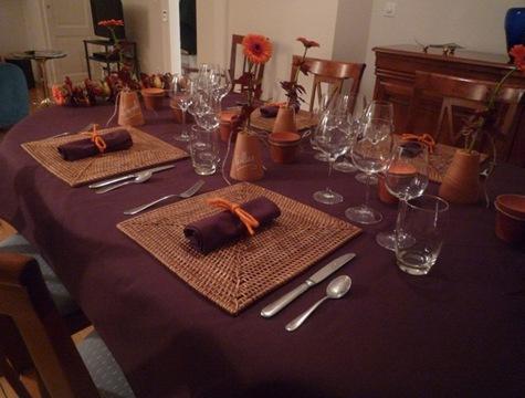 table d 39 automne saveurs et cie. Black Bedroom Furniture Sets. Home Design Ideas