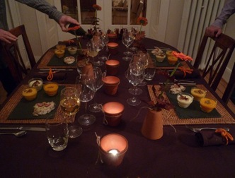 Diner entre amis saveurs et cie for Idee diner entre amis