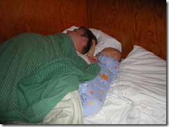 Sleeping with Dad
