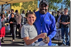 3rd Place with Christian Okoye