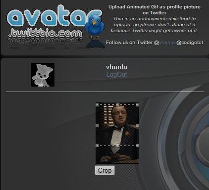 crop avatar twittbio.com