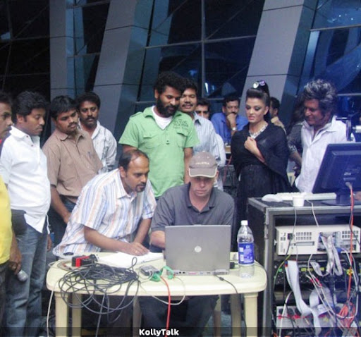 Endhiran Making Exclusive Stills 3