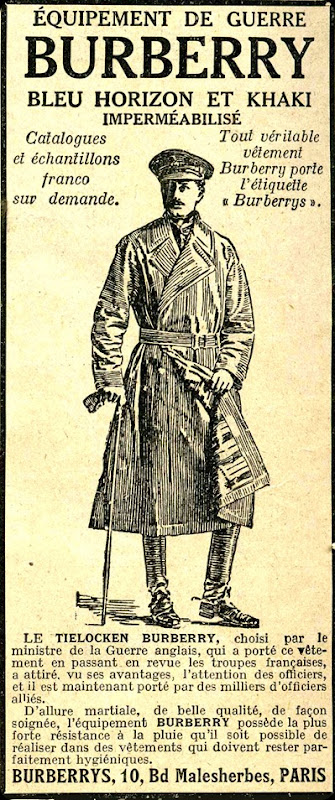 Burberry Coat 1917