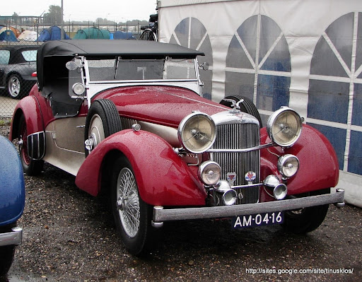 1939 - Alvis Speed 25 Tourer