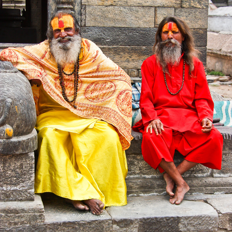 Непал. Катманду. Пашупатинатх