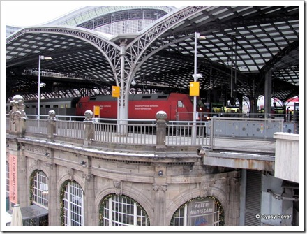 Inter City express at Cologne.