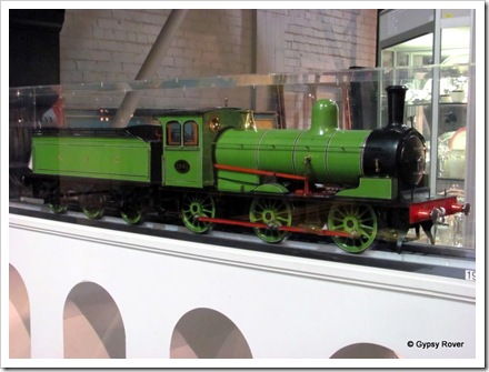"Another of the many scale live steam model locos from 5"" scale up to 1/16th."
