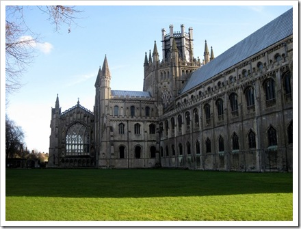 Ely cathedral.