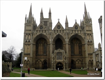 Peterborough Cathedral.