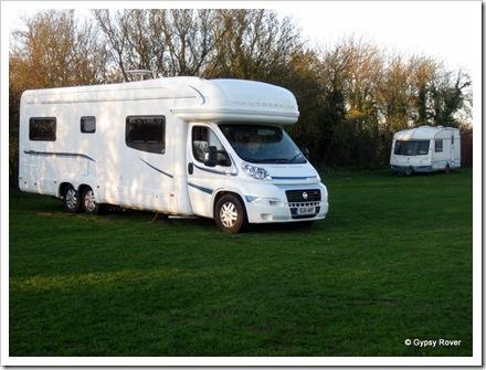 Gypsy Rover IV at Newlands, Woodbridge.
