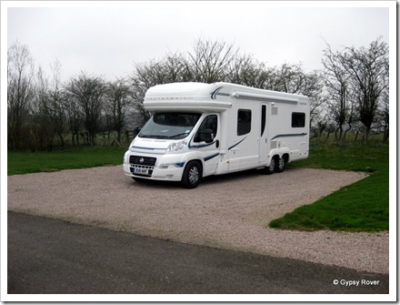 Gypsy Rover MkIV at Black Horse Caravan Club site 30/03/2011.